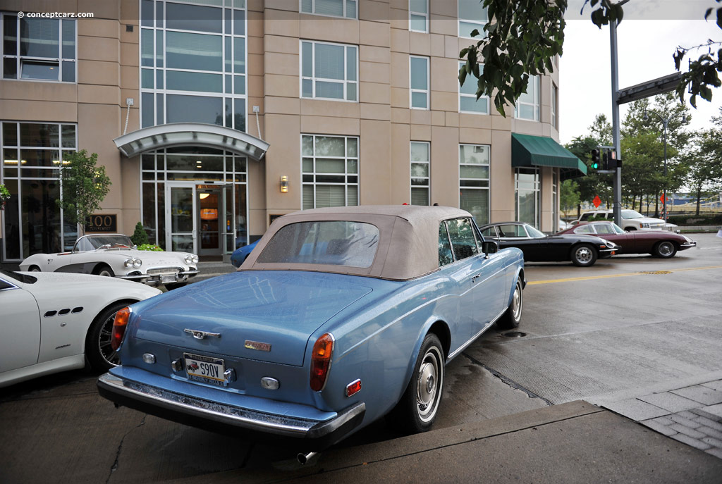 1982 rolls royce corniche at the pittsburgh vintage grand prix. Black Bedroom Furniture Sets. Home Design Ideas