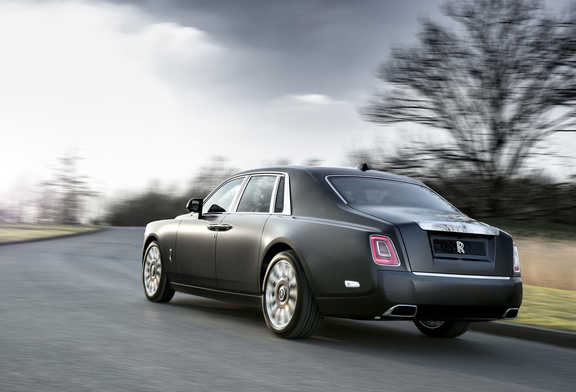 2018 Rolls-Royce Phantom Gentlemans Tourer