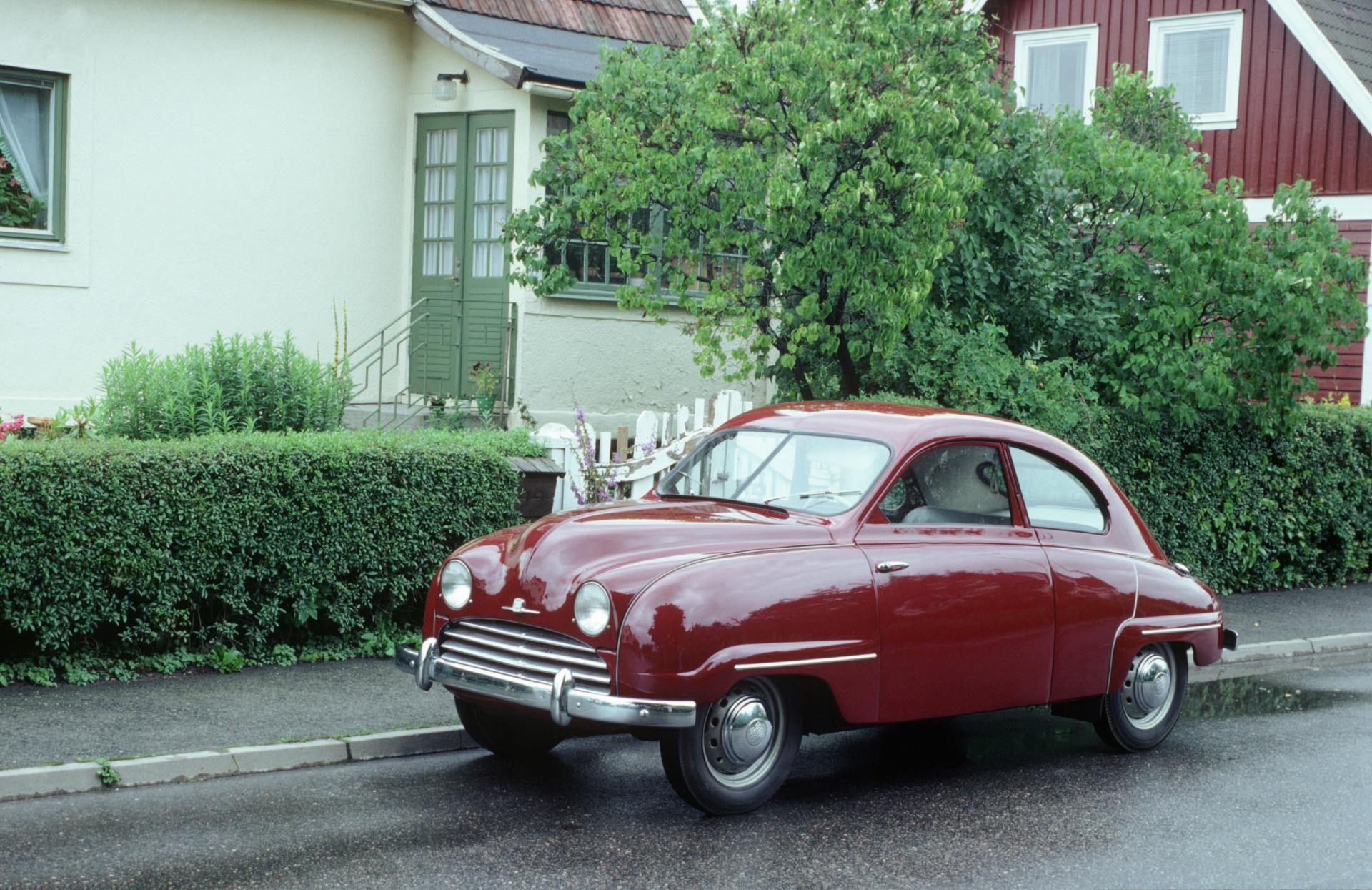 1953 Saab 92b Pictures History Value Research News