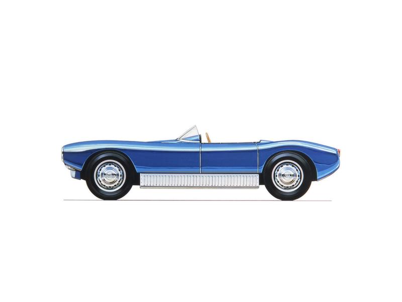 1957 Saab Sonett 1