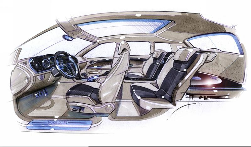 2004 Saab 9 3 Sport Hatch Concept Image Photo 3 Of 37