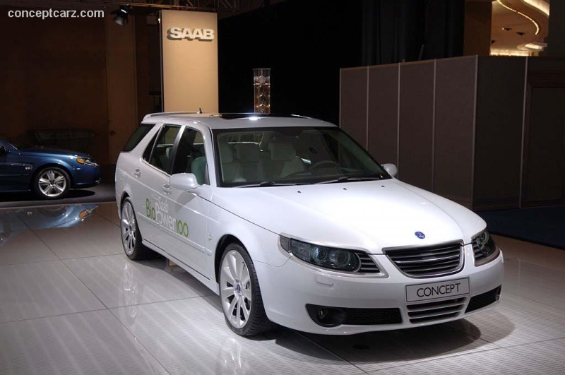 2007 Saab 9 5 Biopower 100 Concept Image Photo 2 Of 16