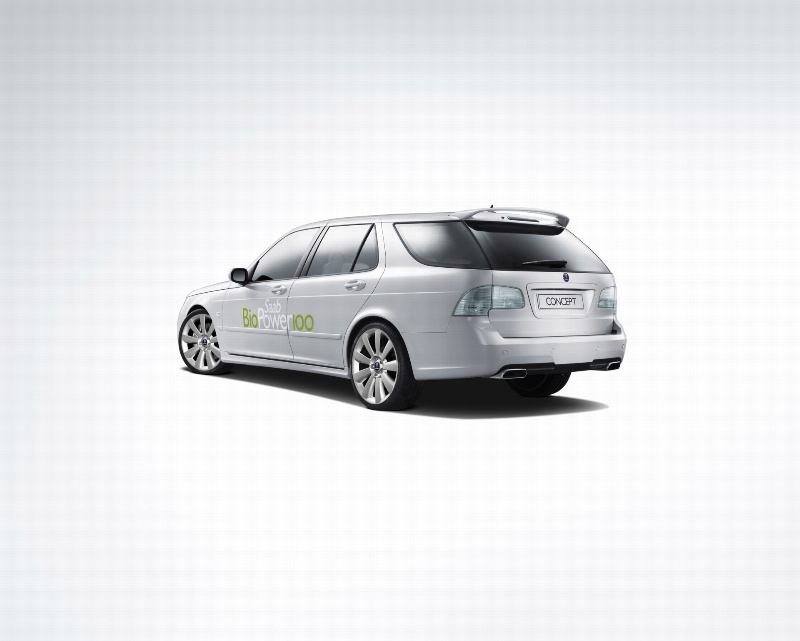 2007 Saab 9 5 Biopower 100 Concept Wallpaper And Image Gallery