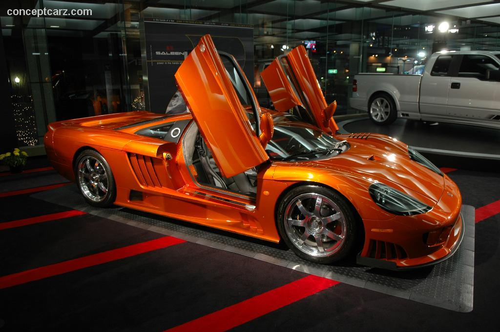 Auction Results and Sales Data for 2006 Saleen S7