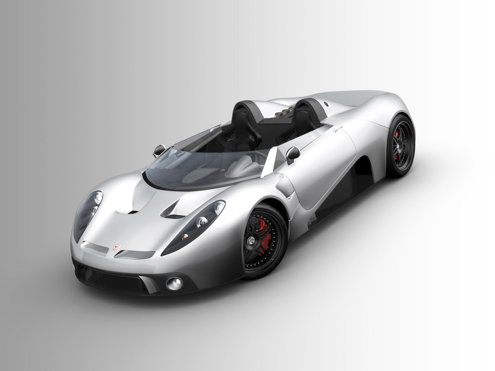 2008 Scuderia Bizzarrini p538 Barchetta Prototype