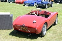 1952 Siata 300BC.  Chassis number ST403BC