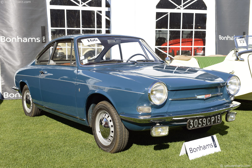 1967 Simca 1000 Image Chassis Number 154970