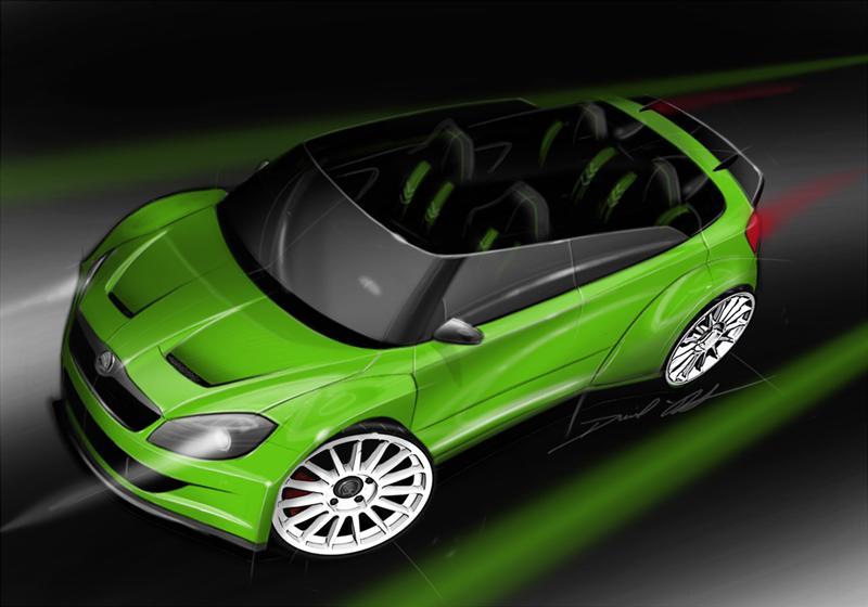 2011 Skoda Fabia RS 2000 Concept