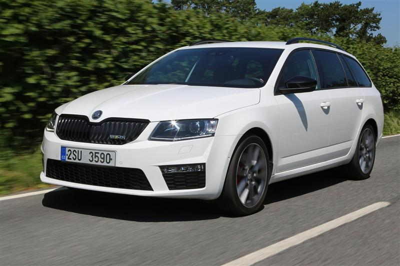 2014 Skoda Octavia Combi Rs Image Photo 48 Of 48
