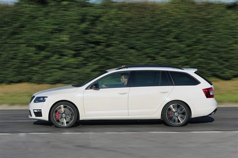 2014 Skoda Octavia Combi Rs Image Photo 47 Of 48
