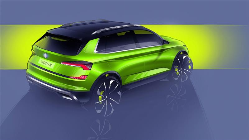 2018 Skoda Vision X Concept News and Information, Research, and Pricing