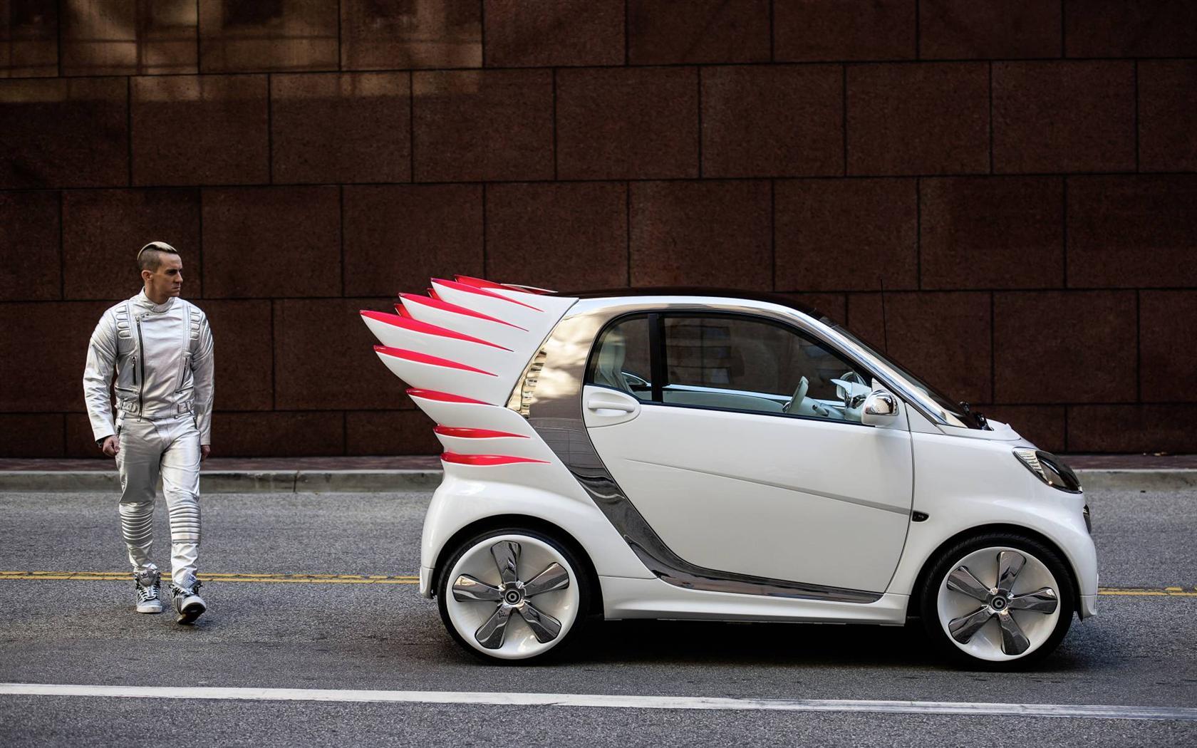 2013 Smart fortwo Jeremy Scott Concept Image  Photo 16 of 50