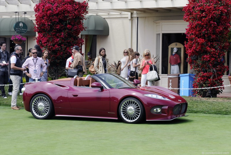 2013 Spyker B6 Venator Spyder Concept Image Photo 14 Of 34