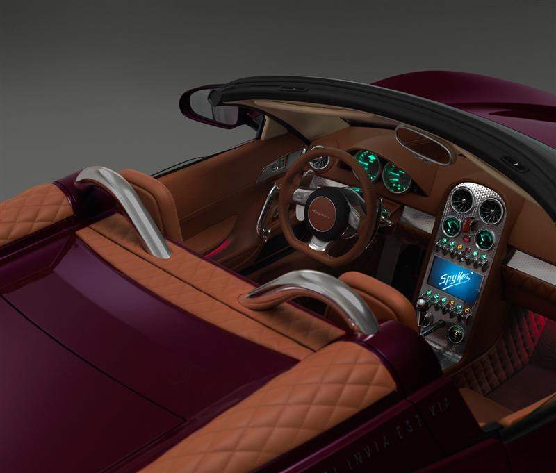 2013 Spyker B6 Venator Spyder Concept Image Photo 18 Of 34