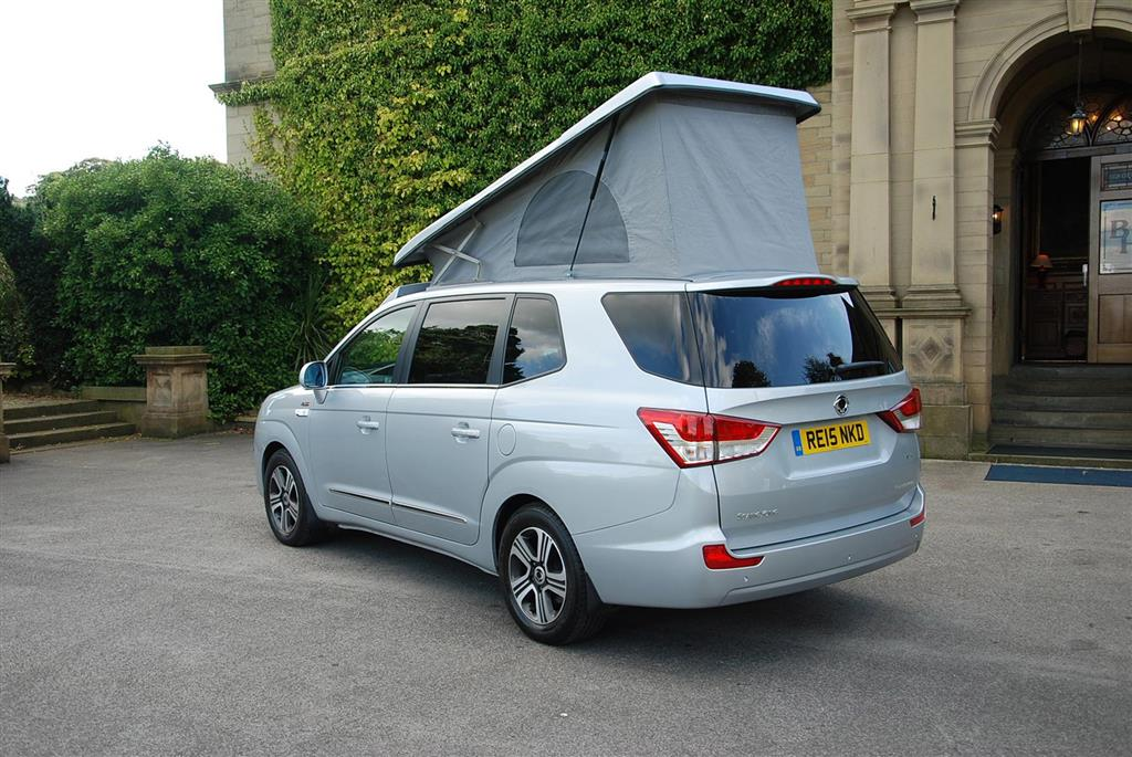 2016 Ssang Yong Turismo Camper
