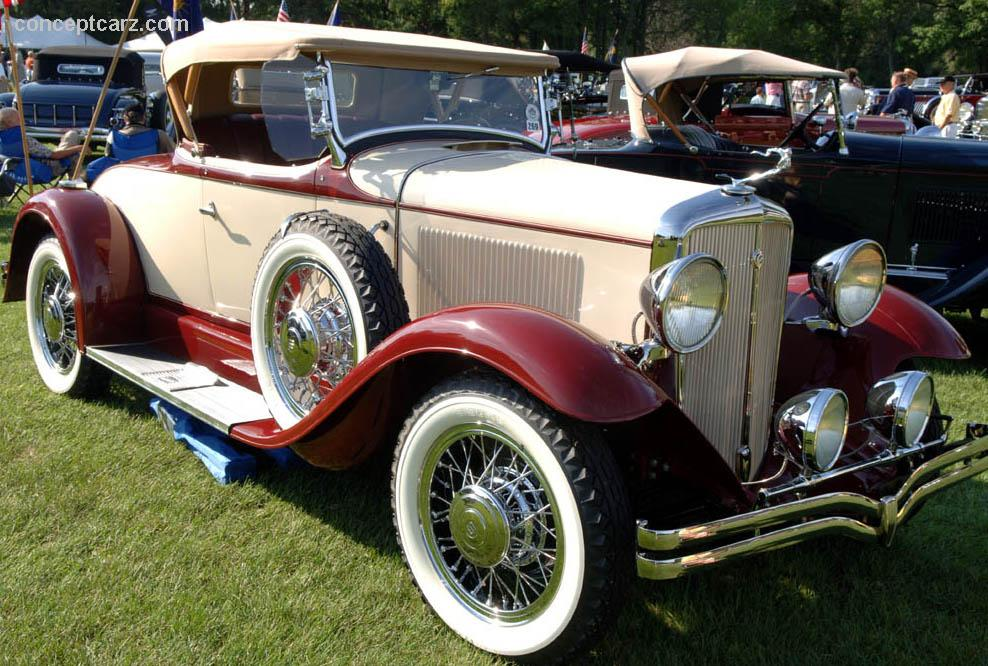 1931 Studebaker Six History Pictures Sales Value