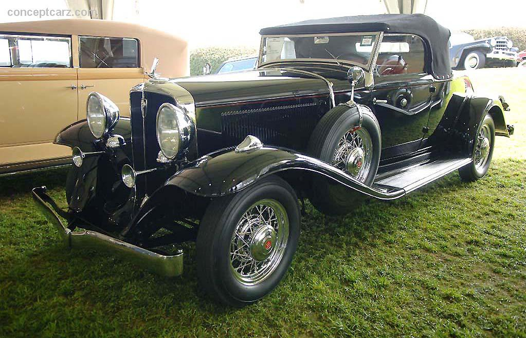 1932 Studebaker President Image Chassis Number 91r121