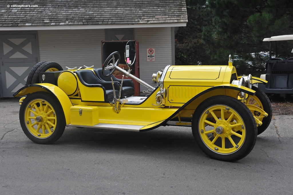 1915 Stutz Bearcat Image Chassis Number 4f2658