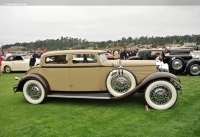 1930 Stutz SV16.  Chassis number M854CD27S