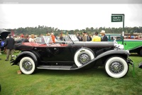 1931 Stutz Model DV-32.  Chassis number DV-25-1277