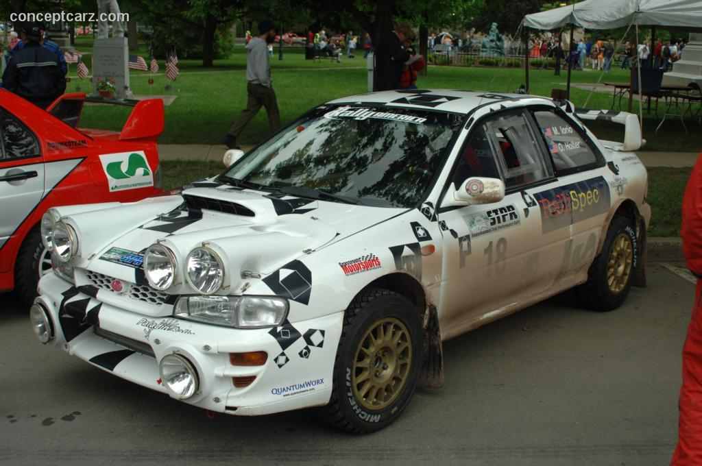 2001 Subaru Impreza Wrx Sti Image Photo 3 Of 9