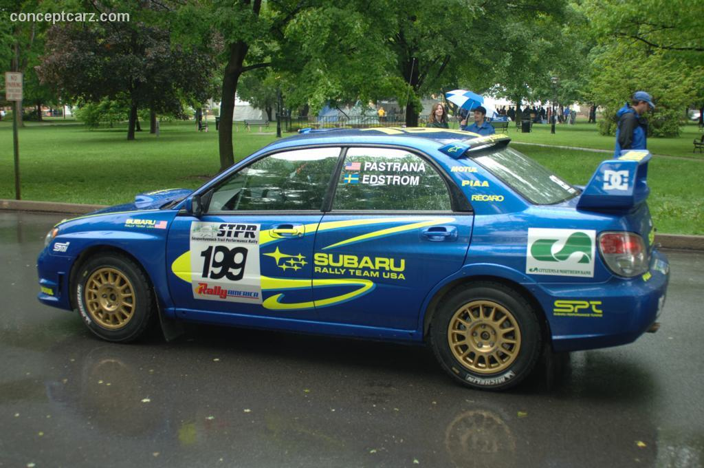 Auction Results and Sales Data for 2006 Subaru Impreza WRX STi