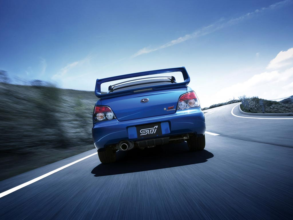 2005 subaru wrx sti wallpaper