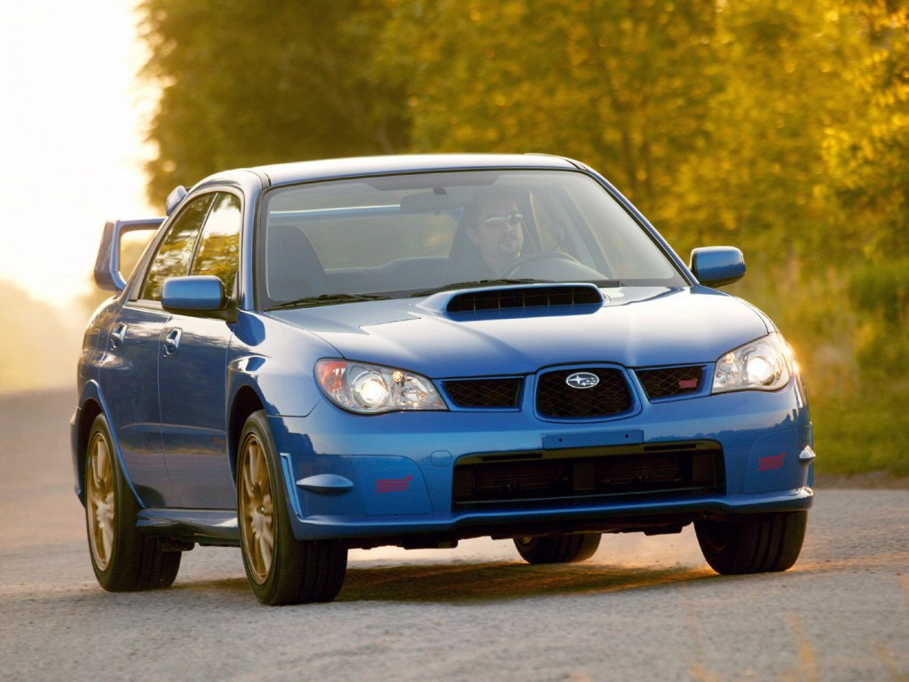 2006 subaru impreza wrx sti pictures history value. Black Bedroom Furniture Sets. Home Design Ideas