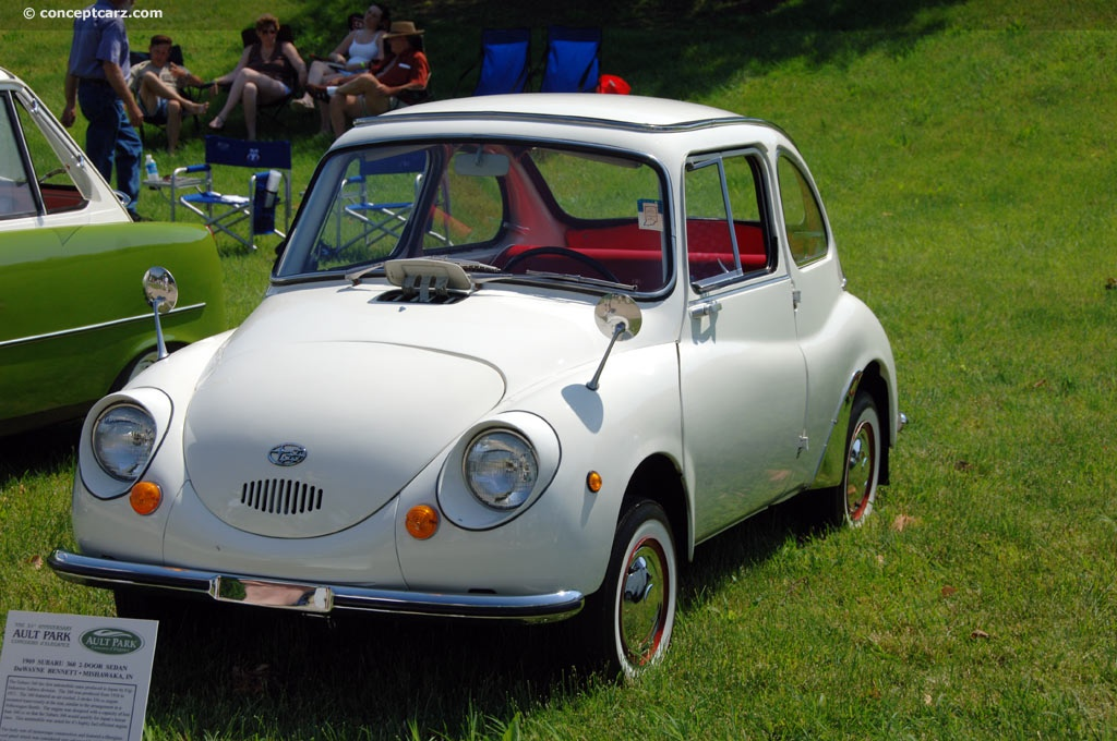 1969 Subaru 360 Pictures History Value Research News