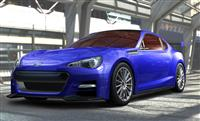 Popular 2012 BRZ Concept STi Wallpaper