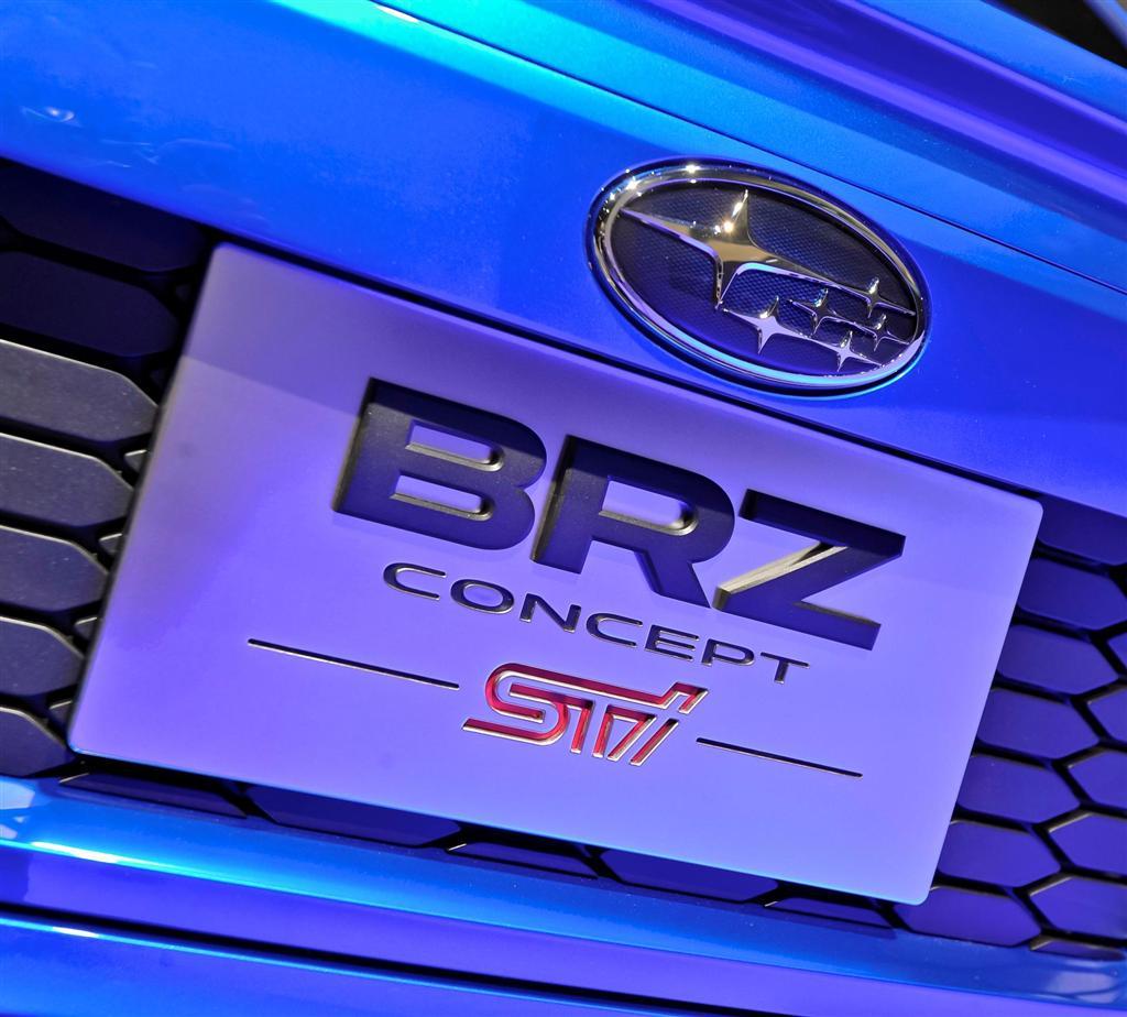 Brz Sti 2018 Price >> 2012 Subaru BRZ Concept STi Image. Photo 11 of 35