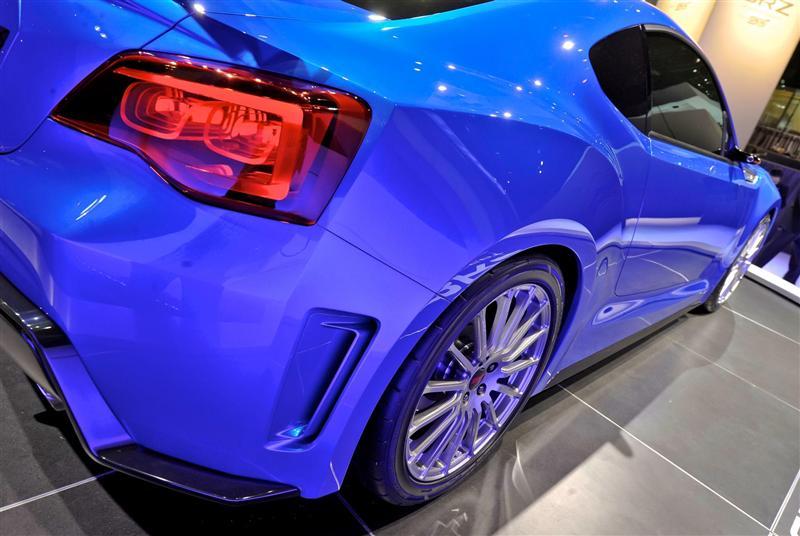 2012 Subaru BRZ Concept STi