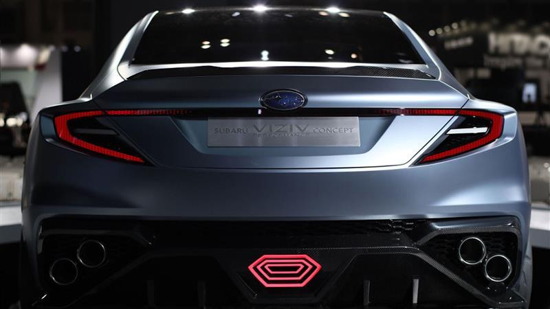 2017 Subaru Viziv Performance Concept Image Photo 8 Of 12