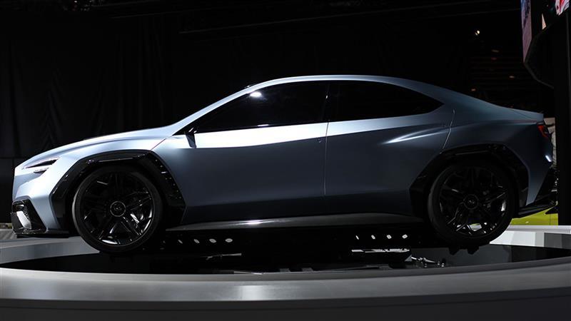 2017 Subaru Viziv Performance Concept Image Photo 6 Of 12