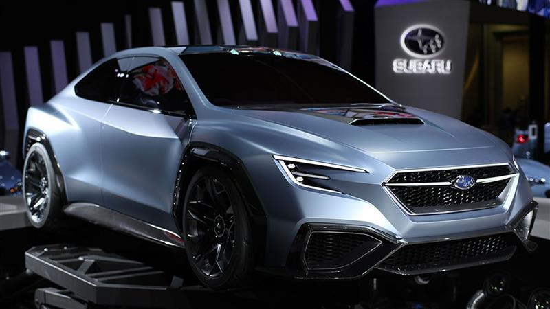 2017 Subaru Viziv Performance Concept Image Photo 4 Of 12