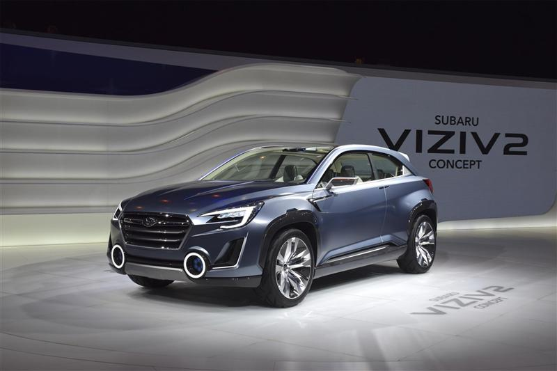 2014 Subaru Viziv 2 Concept News And Information Research And Pricing