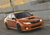 2013 Subaru Impreza WRX Orange and Black Special Edition image.