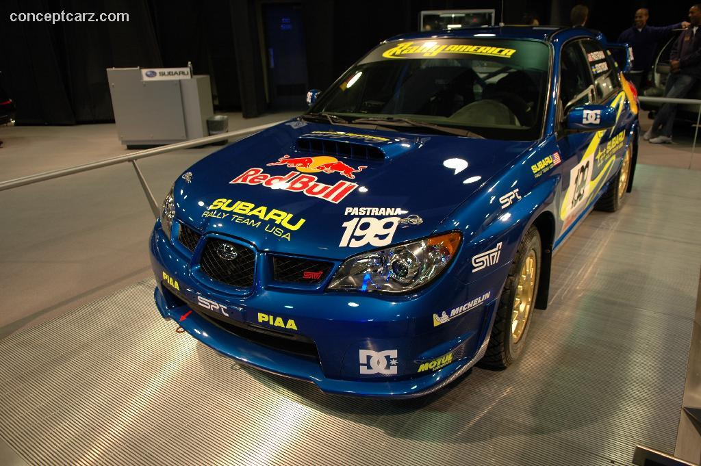 2006 subaru impreza wrx sti wrc history pictures value auction sales research and news. Black Bedroom Furniture Sets. Home Design Ideas
