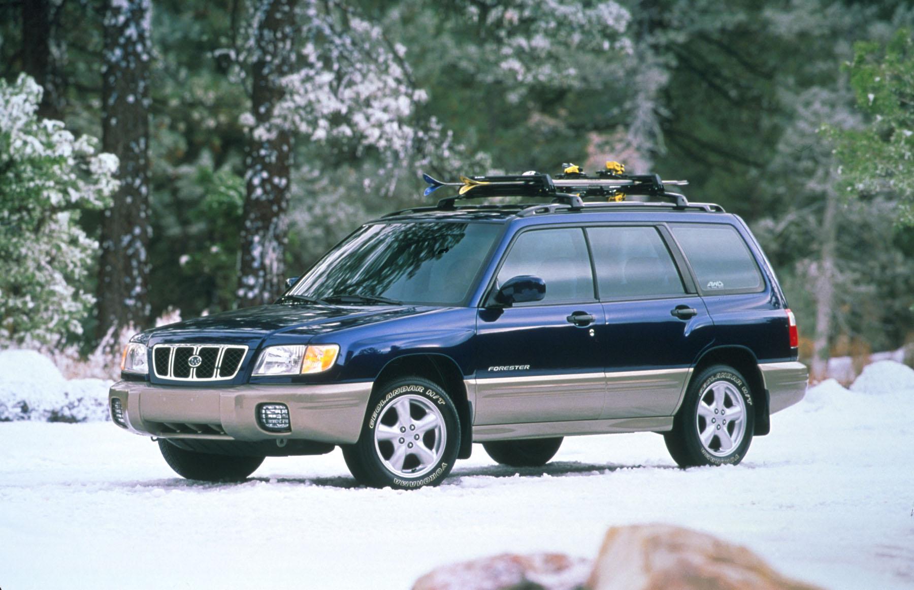 Get 2001 Subaru Forester Xt