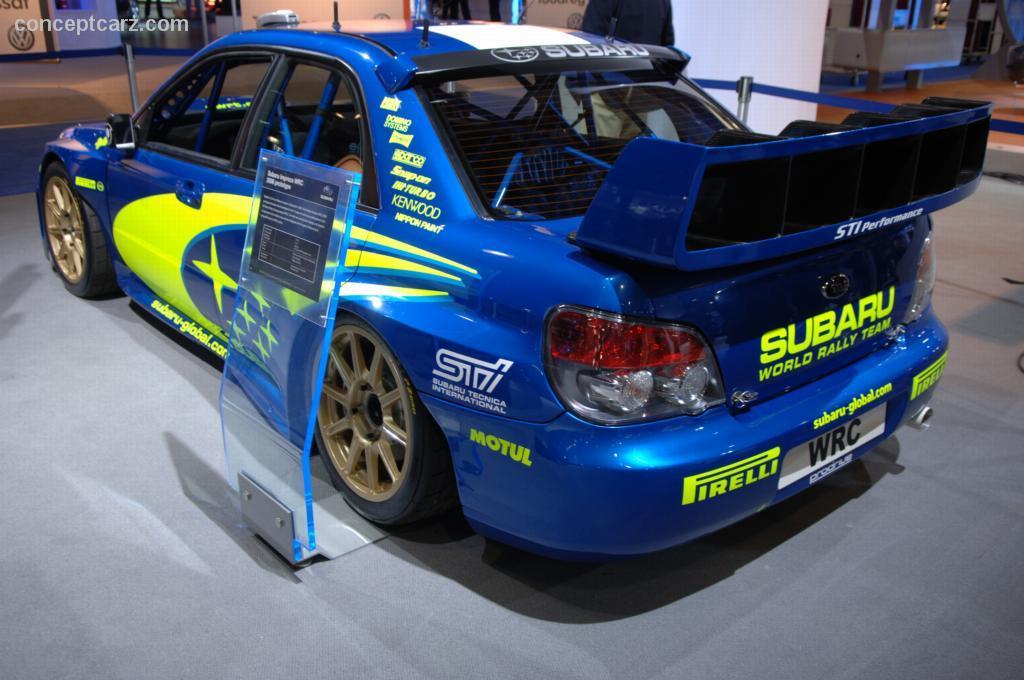 2006 Subaru Impreza WRX STi WRC Image. https://www ...