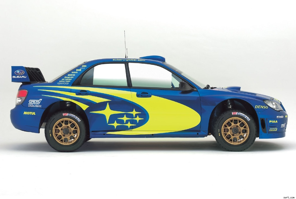 2007 subaru impreza wrc2007 pictures history value research news. Black Bedroom Furniture Sets. Home Design Ideas