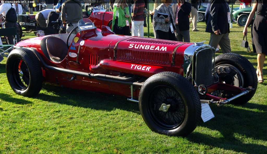 1925 Sunbeam Tiger History Pictures Sales Value Research And News
