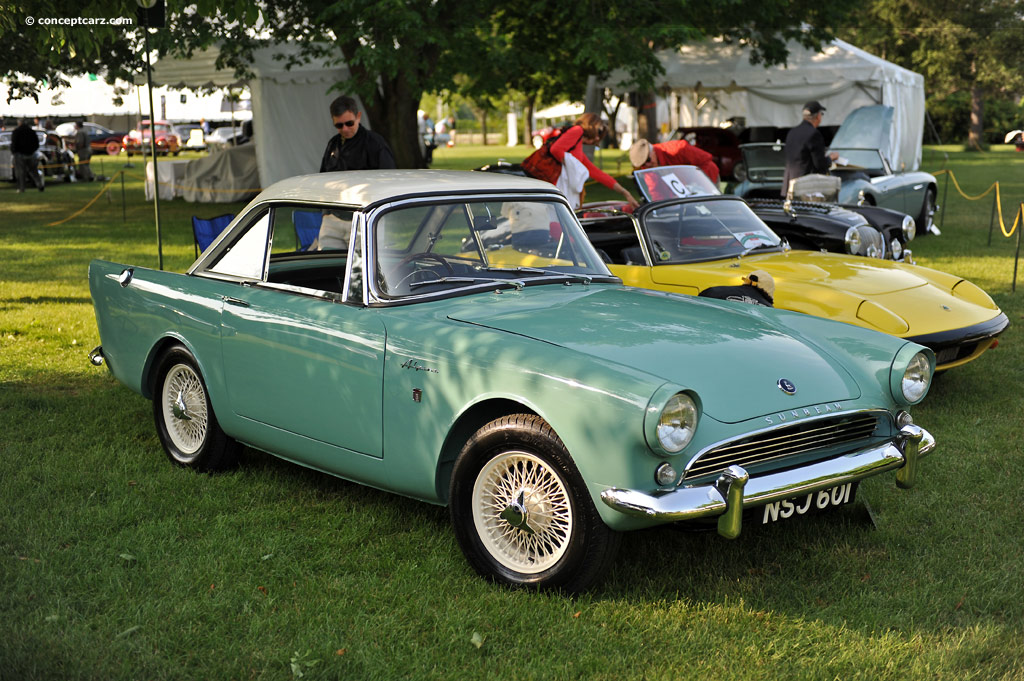 Auction Results And Data For 1963 Sunbeam Alpine Conceptcarz Com
