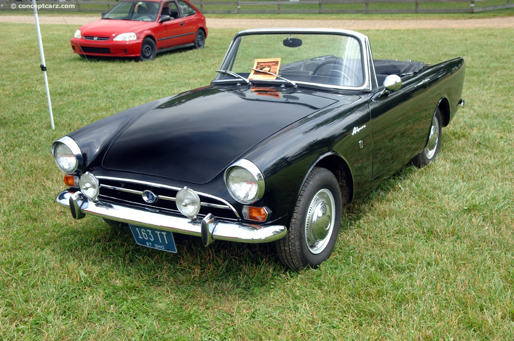 1967 Sunbeam Alpine History Pictures Value Auction