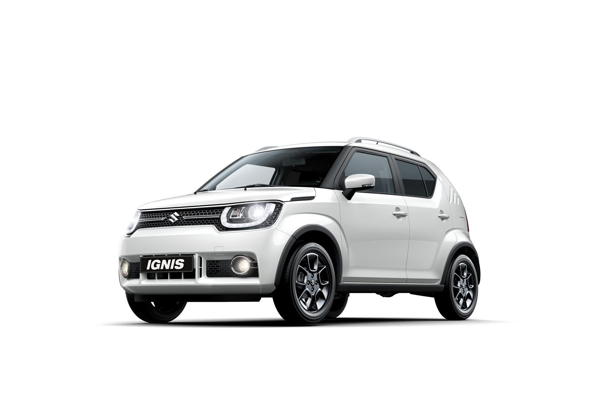 2016 suzuki ignis news and information. Black Bedroom Furniture Sets. Home Design Ideas