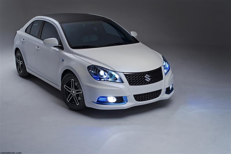 2011 Suzuki Kizashi Ecocharge Concept Image Photo 7 Of 10