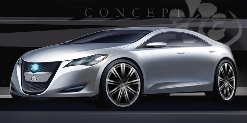 2008 Suzuki Kizashi 3 Concept News And Information