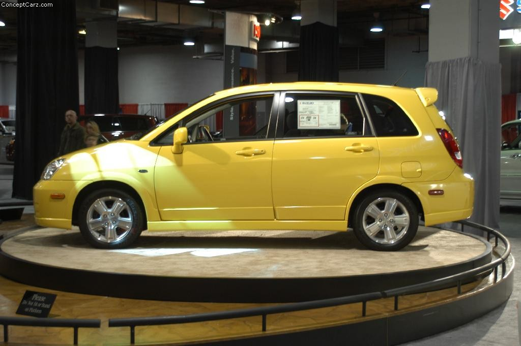 Cars That Start With J >> 2003 Suzuki Aerio History, Pictures, Value, Auction Sales ...