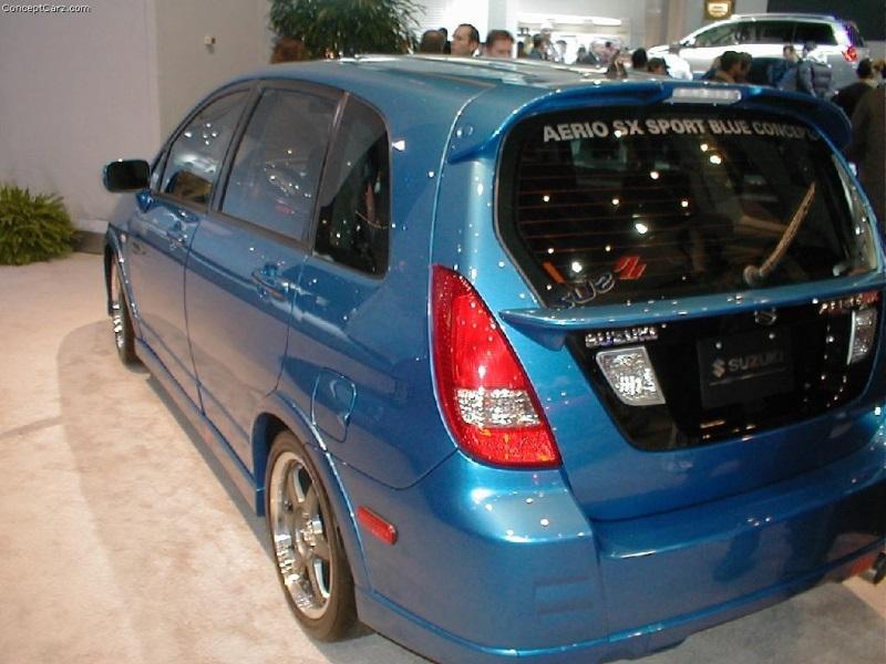 2003 Suzuki Aerio Image Photo 6 Of 11