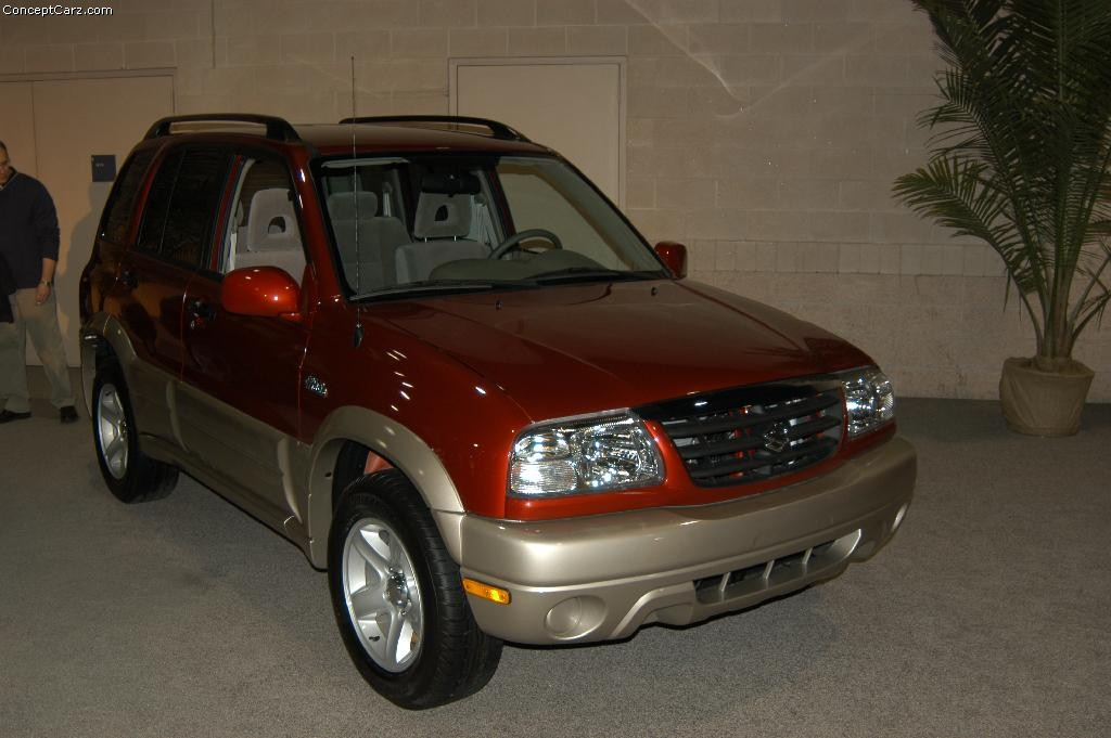 2003 Suzuki Grand Vitara Pictures History Value